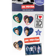 One Direction Midnight Memories Vinyl Sticker 10 x 17cm