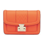 Matthew Williamson Countess Mini Leather Boxy Bag - Orange