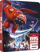 Big Hero 6 3D (Includes 2D Version) - Zavvi Exclusive Limited Edition Steelbook