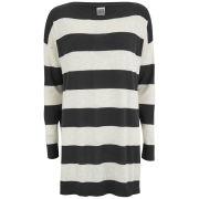 Vero Moda Women's Rania Striped Jumper Dress - Black