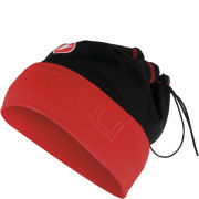 Castelli Unisex Converter Cap - Black/Red/Inside Yellow Fluo