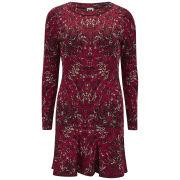 M Missoni Women's Marble Jacquard Long Sleeved Dress - Lacca