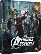 Avengers Assemble 3D (Includes 2D Version) - Zavvi Exclusive Lenticular Edition Steelbook