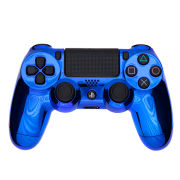 Official PlayStation DualShock 4 Custom Controller - Chrome Blue