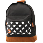 Mi-Pac Star Print Backpack - Black