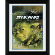 "Star Wars Blu Ray Prequel - 8"""" x 6"""" Framed Photographic"