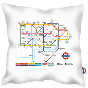 London Transport Tube Map Zone 1 Cushion
