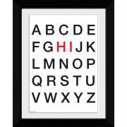 Alphabet Hi - Collector Print - 30 x 40cm