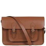 Cambridge Satchel Company 15 Inch Leather Satchel - Vintage Tan