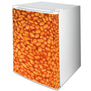 Baked Beans One-Door Freezer or Fridge Vinyl Wrap