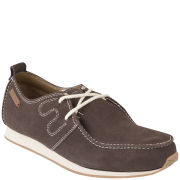 Kickers Men's Oakes Marker Suede Trainers - Brown