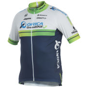 ORICA GreenEDGE Team Replica Short Sleeve Jersey - White 2014
