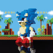 Sonic the Hedgehog Pixel Bricks