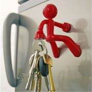 Key Pete the Super Strong Magnetic Key Holder - Red One Size Red