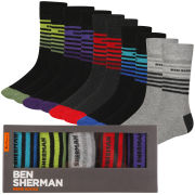 Ben Sherman Men's 5-Pack Socks - Multi