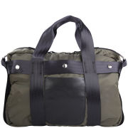 Bill Amberg Transit London Briefcase - Olive/Black