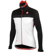 Castelli Poggio Jacket - White/Black/Red