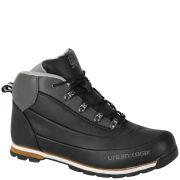 Urban Logik Men's Darwin Boots - Black/Charcoal