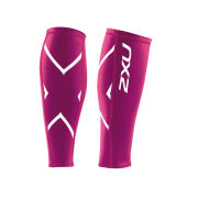 2XU Unisex Compression Calf Guard - Hot Pink