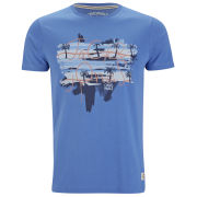 Jack & Jones Mens Rose T-Shirt - Campanuala