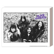 Black Sabbath Band - 40 x 30cm Canvas