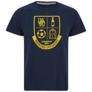 Weekend Offender Men's Shield Printed T-Shirt - Navy