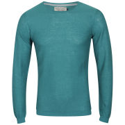 Jack & Jones Men's Bright O-Neck Knit - Green