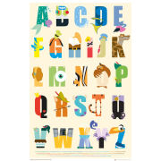 Disney Alphabet - Maxi Poster - 61 x 91.5cm