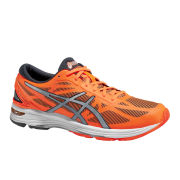 Asics Men's Gel DS Trainer 20 Speed Running Shoes - Flash Orange/Silver/Black