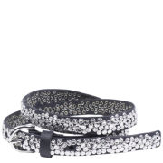 Markberg Rachel Leather Studded Belt - Black