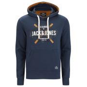 Jack & Jones Mens Bisbo Sweat - Dress Blue