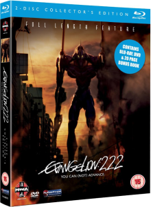 Evangelion 2.22 You Can (Not) Advance Collector's Edition Combi Pack