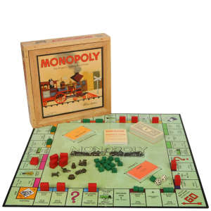 Monopoly Nostalgia Edition Board Game