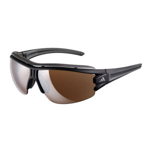 adidas Evil Eye Halfrim Pro Sunglasses - Matt Black/Grey - L