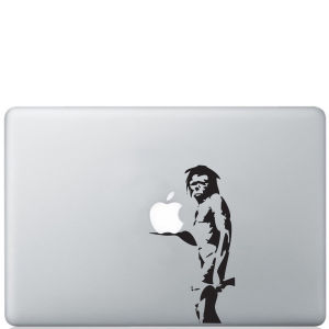 Banksy Caveman Macbook Decal