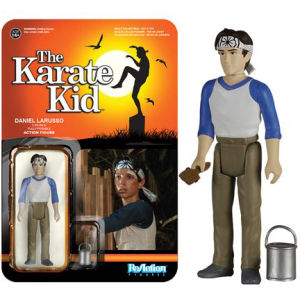 ReAction Karate Kid Daniel Larusso 3 3/4 Inch Action Figure