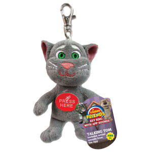 Talking Tom Keyring