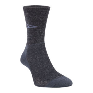 DeFeet Hi-Top Wooleator Socks - Charcoal Black