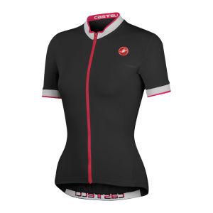 Castelli Women's Perla SS FZ Cycling Jersey