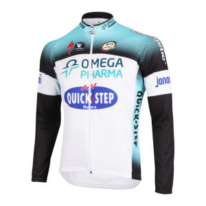 Omega Pharma Quick Step Team LS Jersey - 2013