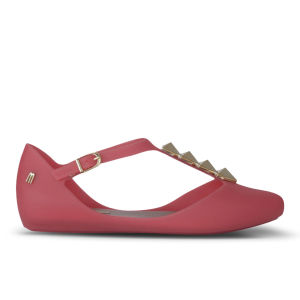 Melissa Women's Doris Arrow Pointed Toe Flats - Coral