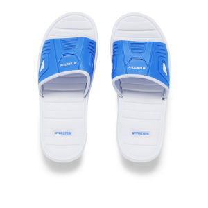 Myprotein Flip Flops, White/Blue