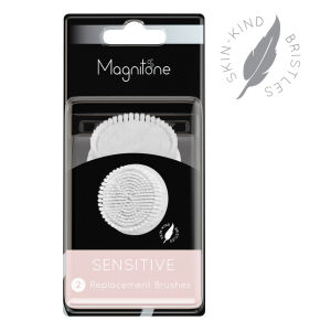 Magnitone Sensitive Brush with Skin Kind Bristles (Set of 2)