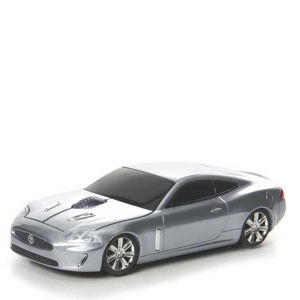 Road Mice Jaguar XKR Silver Wireless Mouse