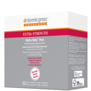 Dr Dennis Gross Extra Strength Alpha Beta Face Peel (60 Application Packettes)