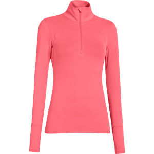 Under Armour Women's Qualifier Knit 1/4 Zip Top - Brilliance/Reflective