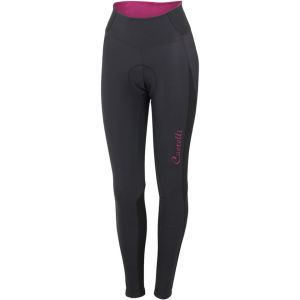 Castelli Women's Illumina Tights - Anthracite/Magenta