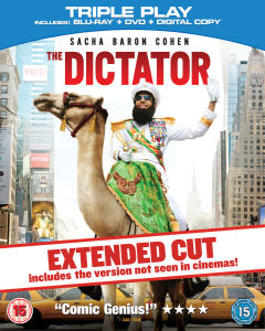 The Dictator - Triple Play (Blu-Ray, DVD and Digital Copy)