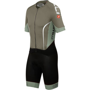Castelli Sanremo 3.0 Speed Suit - Slate/Mist/White