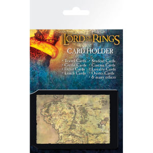 Lord of the Rings Map - Card Holder
